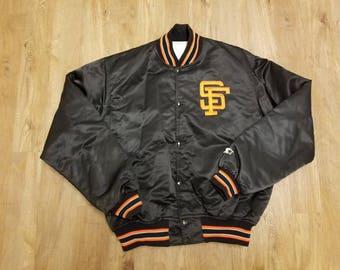 XL San Francisco Giants starter jacket,90s, satin jacket, all star game, world series, candlestick park,SFG