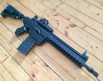 NEW* Custom Nerf Retaliator // HECKLER & KOCH HK416 L styling + internal mods!