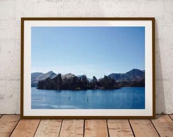 Lake District Photographs, Lake District Art, Derwent Water, Keswick Photography, Keswick Prints, Nature Print, Mountain Photography