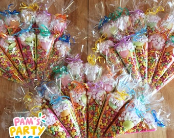 Children's Pre-Filled Sweet Cones
