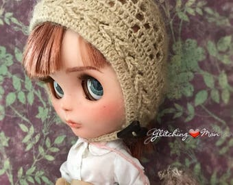 SALE! Finely Hand Crocheted Pixie style hat