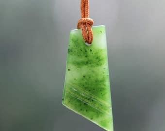 Canadian Polar Jade Pendant