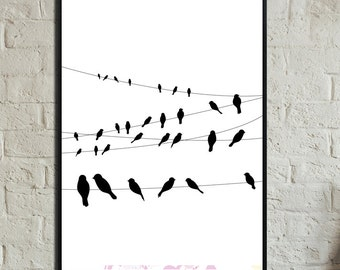 Poster. Instant Download. Wall art. Abstract art. Print art. Modern art. Poster Typography. Digital prints. Poster printing