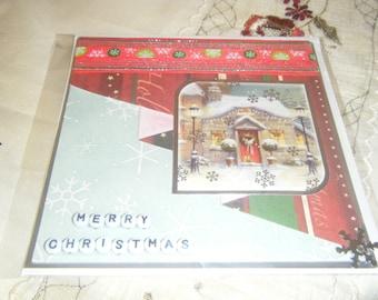 14.5 x 14.5 Square Christmas Card