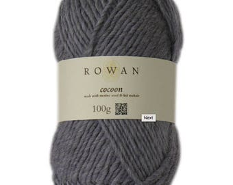 Rowan Cocoon made with merino wool and kid mohair 100g chunky yarn Made in England