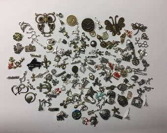 50 Charms, for Jewlery, I Spy bags, Occupational Therapy, Sensory tables, Rice Boxes, Speech therapy, Teachers