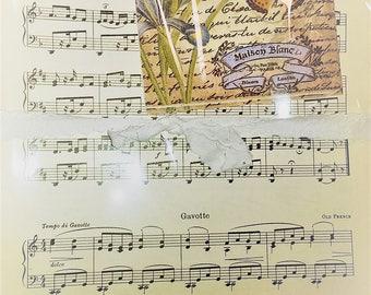 Vintage Music Paper Bundle 50 pages