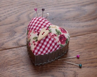 Heart Shaped Pin Cushion