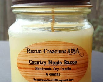 Country Maple Bacon - Premium Soy Candle