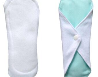 Mint organic Velour washable sanitary napkin