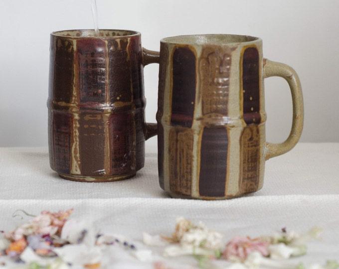 Vintage ceramic mug/beer mug