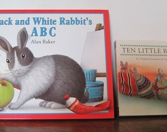 Books, Rabbit Books, 2 Rabbit Books, Children's Books