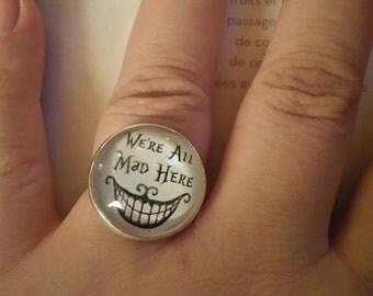 """Ring silver vintage """"alice"""""""