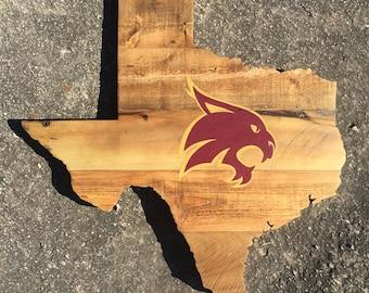 TX State Bobcats - Texas