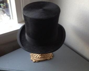 Antique Dutch Beaver Top Hat