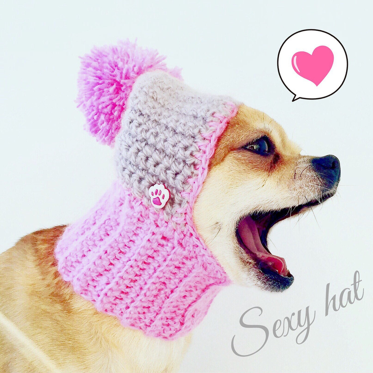 Dog crib for sale philippines - Pink Dog Hat Cozy Crochet Dog Hat Warm Knitted Dog Hat Puppy Chunky Hat Small Winter Dog Hat Dog Costume Knit Dog Clothes Dogs Hats For Dogs