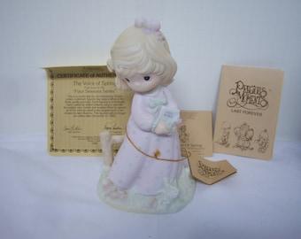 The Voice Of Spring, Precious Moments, Figurine, Dove Mark, Pre Owned,  Original Box, #12068, No Damage, As Found