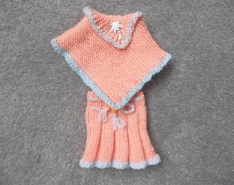 Beautiful Hand Knitted Dolls Set.