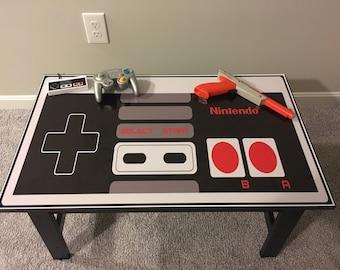 Nintendo NES Custom Controller Video Game Coffee Table