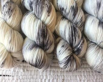 MUSE   Stellina   Hand Dyed Sock Yarn   438yds   75% Superwash Merino / 20 Nylon / 5 Stellina