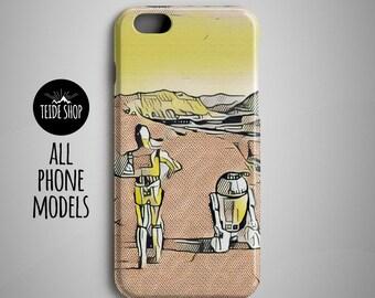 Star Wars iPhone 8 Case Samsung Galaxy S8 Case iPhone 8 Plus Case Huawei Honor 8 Case Huawei P9 Case iPhone 7 Case Xperia Z5 Case R2D2 C-3P0
