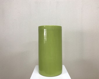 Green architectural pottery cylinder?