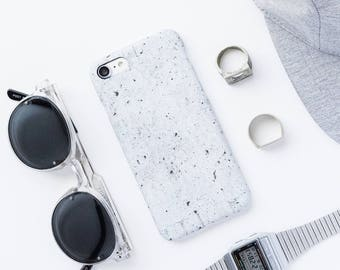 Concrete iPhone Case - iPhone 7 Case, iPhone 6 Plus, iPhone 6 Case, Stone iPhone case, Grey iPhone 7 Case, Minimalist iPhone Case