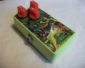 Snake Charmer - Modulator Pitch Ring Modulation  Mod - Guitar Effect Pedal - HandMade - Jen HF Clone