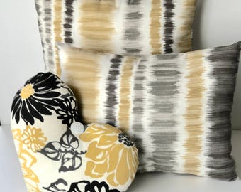 """Magnificent Metro Collection 16x16 and 12x16"""" Honey Dew 11x13"""" heart Golden Night"""