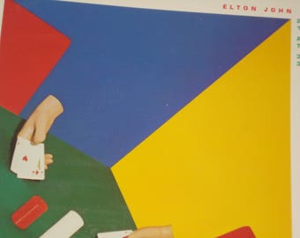 Elton John vinyl record album, 21 At 33 vintage vinyl record