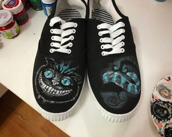 Mad cat - Painted Sneakers