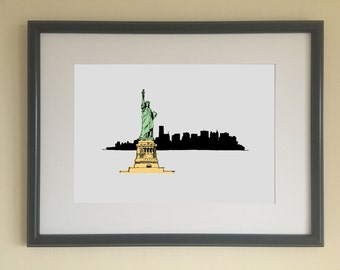 Statue of Liberty limited edition print
