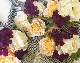 MOTHER'S DAY Chianti & Blush Paper Flower Bouquet