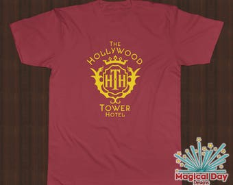 Disney Shirts - Hollywood Tower Hotel - Tower of Terror