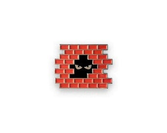 Urban Creeper Enamel Pin