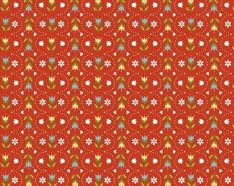 """Riley Blake by Betz White   """"Dutch Stripe""""    Red"""