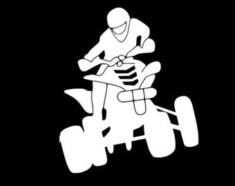 4 Wheel Rider Decal