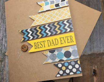 Best Dad Ever Card, Father's Day Card, Card for Dad, Dad Card, Card for Dad, Best Dad Card, Best Dad Ever, Father's Day Card, Father's Day
