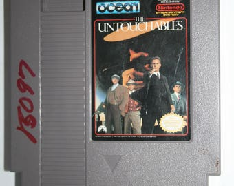 The Untouchables NES Nintendo Video Game Free Shipping