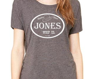 Disney Shirts Ladies Slouchy Shirt Indiana Jones Shirt Jones Whip Co. Disneyland Shirt Disney World Shirt Magic Kingdom Shirt Disney Cruise