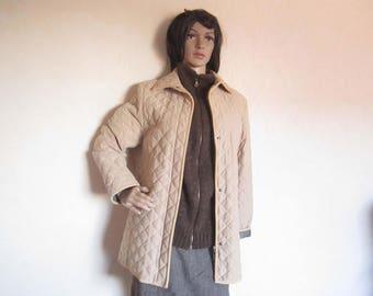 Vintage jacket quilted Jacket Marie Lund S/M
