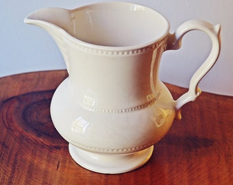 Lord Nelson Pitcher, Light Cream Coloured Small Jug