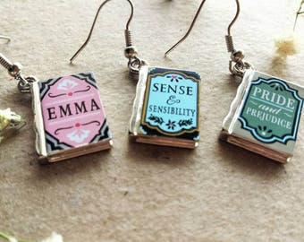 Sense and sensibility earrings your choice