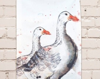 Goose Tea Towel