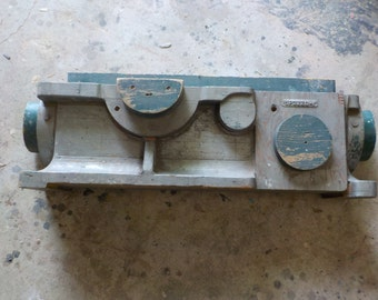 Set of 2 Large Block Industrial Molds