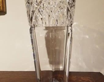 Leaded Crystal Japanese Mikasa Vase