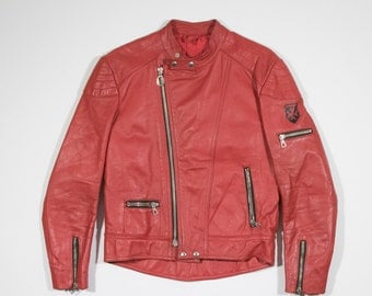 HARRO - Leather biker jacket