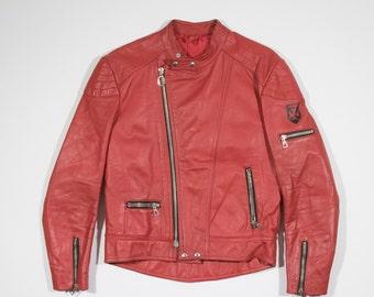 HARRO - Leather biker jacket