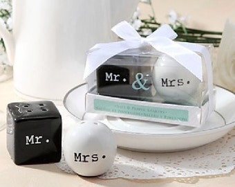 CLEARANCE Mr & Mrs Salt and Peppers Shakers -49 remaining