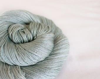 Sage - Hummingbird- 50/50 non-superwash merino/ silk fingering weight